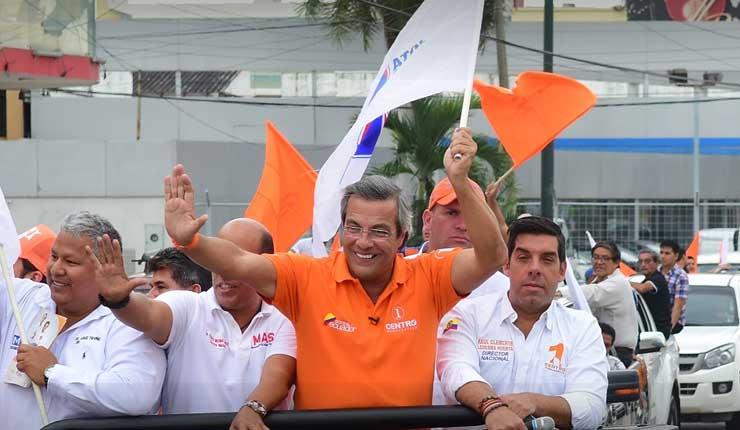 Jimmy Jairala lanza su candidatura a la alcaldía de Guayaquil