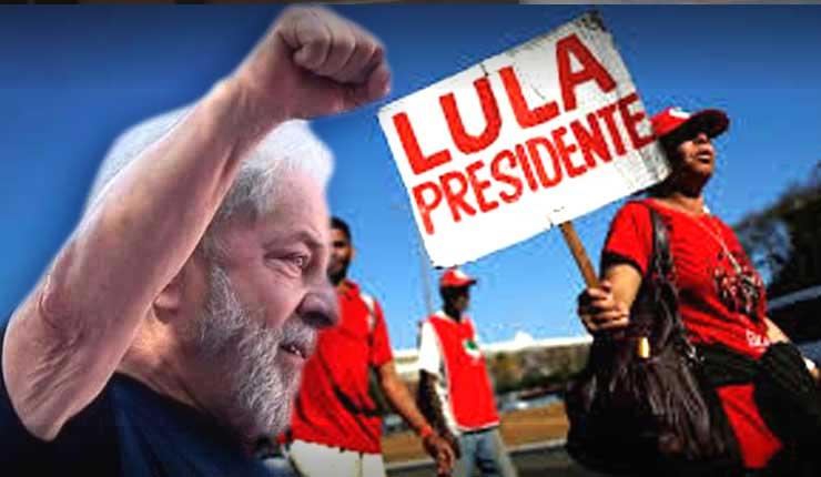 Se registra oficialmente la candidatura de Lula da Silva para las elecciones presidenciales en Brasil