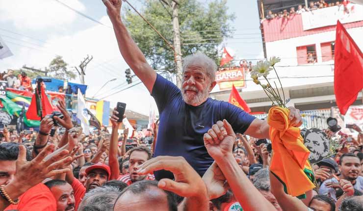 Con el 33% Lula lidera la intención de voto en la mayoría de los estados brasileños