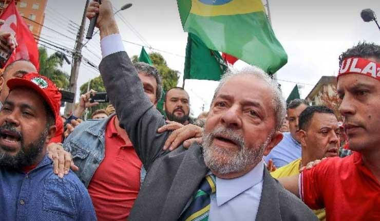 La ONU pide a Brasil, permita a Lula da Silva ejercer su derecho político como candidato a la presidencia