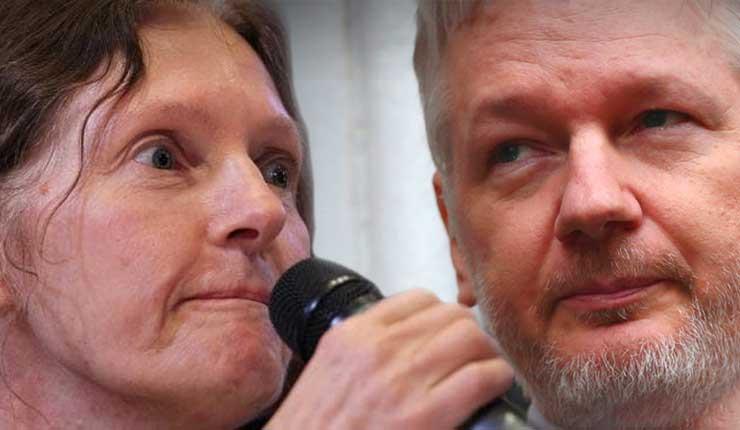 EE.UU. destina dinero a medios ecuatorianos para campaña contra Assange, revela madre del australiano