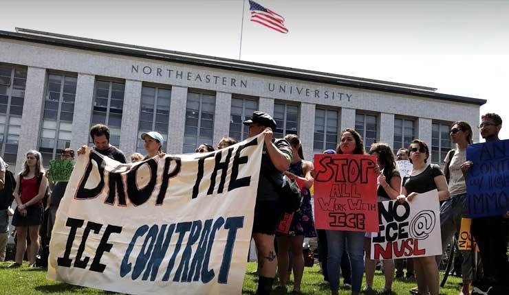 EEUU, policía arresta a 4 personas en protesta contra ICE