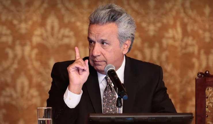 Lenín Moreno otorga indulto a 6 PPL