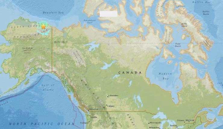 Región de Alaska registra sismos más fuertes de su historia