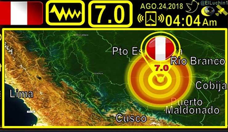 Sismo, Perú, Temblor, Tsunami,