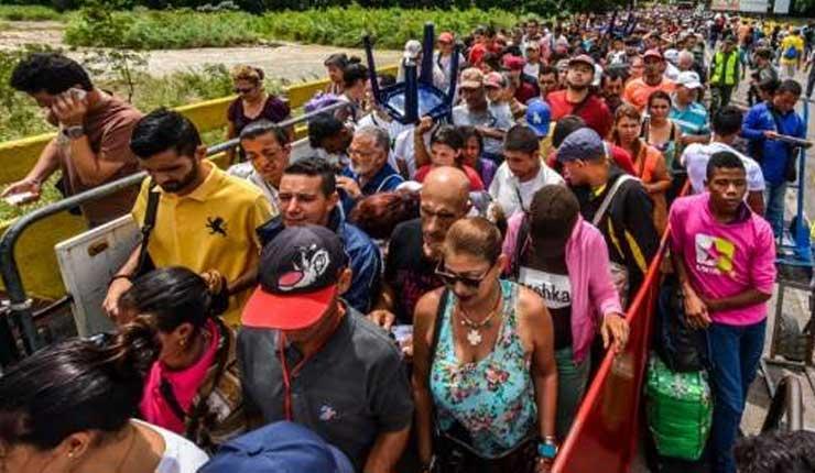 Más de 500.000 venezolanos se refugiaron en Ecuador desde enero, según la ONU