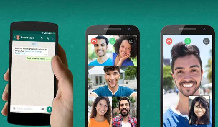 WhatsApp ya permite las llamadas y videollamadas grupales