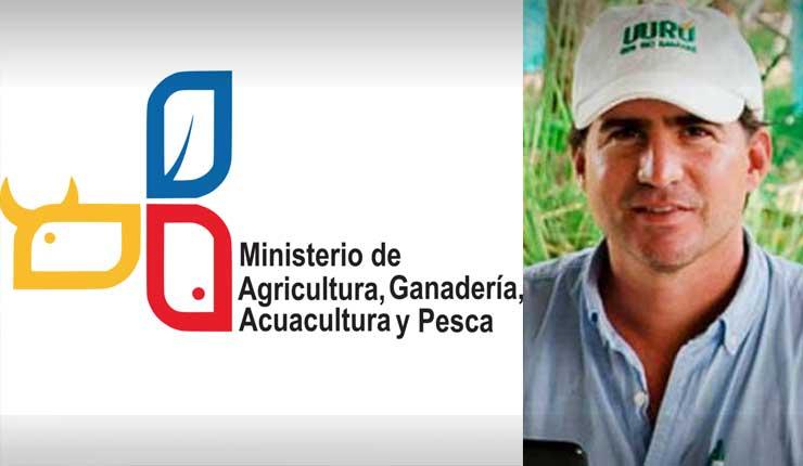 Designan a Xavier Lazo como nuevo ministro de Agricultura y Ganadería