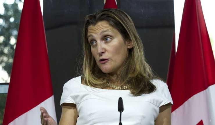 Canadá y Estados Unidos continúan con negociaciones sobre TLCAN