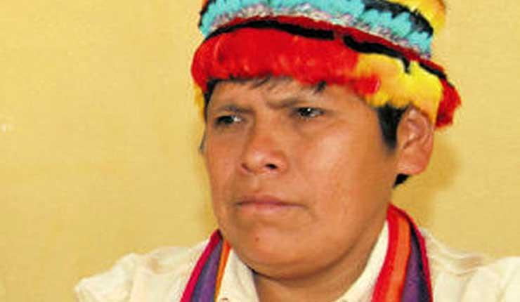 Detienen dirigente indígena Pepe Acacho, en la terminal terrestre de Macas