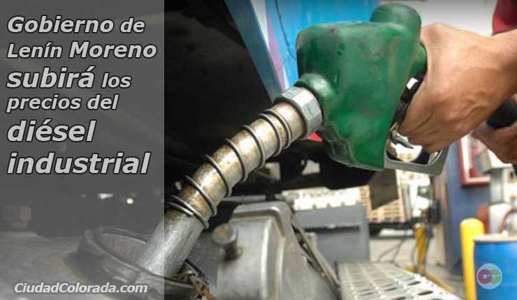 Gobierno ecuatoriano anunciará próximamente el alza del precio del diésel