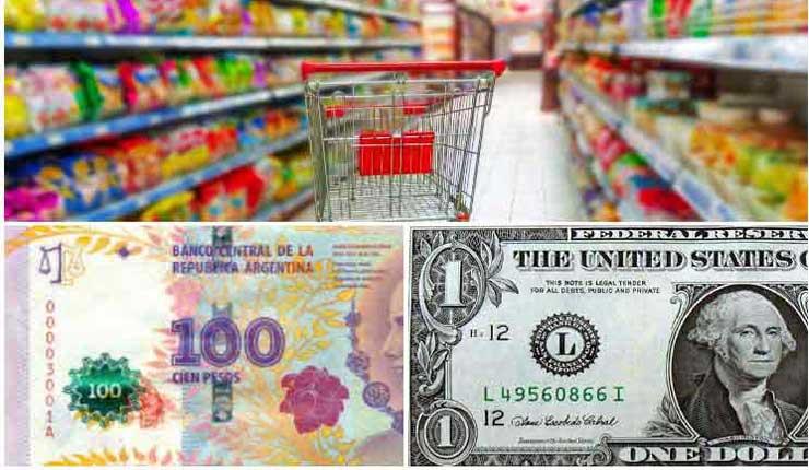 El impacto del dólar se traslada a los supermercados argentinos