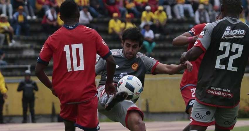 Aucas, Fútbol, El Nacional, Campeonato Ecuatoriano,