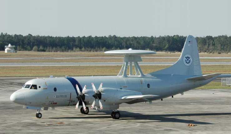 Avión de EEUU hará tareas de vigilancia