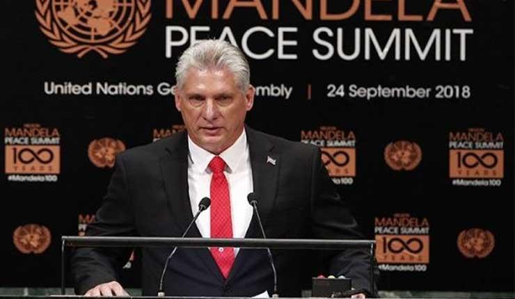 Díaz Canel en la ONU: La filosofía de la dominación amenaza la paz mundial