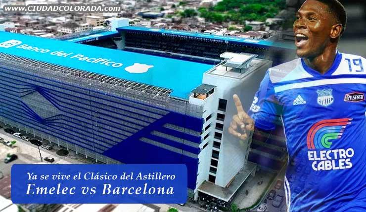 Clásico del Astillero, Fútbol, Emelec, Campeonato Ecuatoriano, Barcelona,