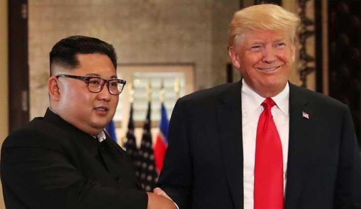 Trump agradece a Kim Jong Un y afirma vamos a superar esto juntos