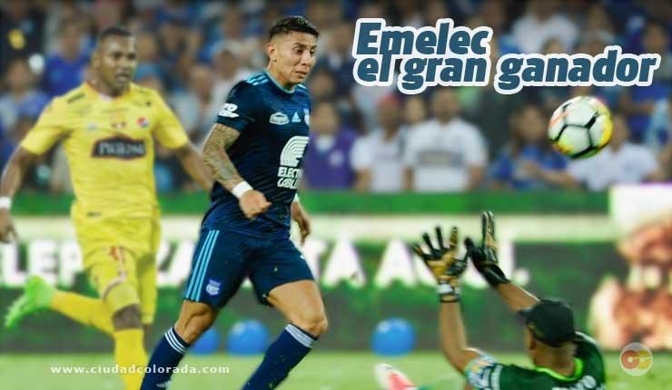 Emelec superó 2-0 a BarcelonaSC CCNews