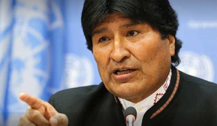 Evo Morales denuncia que EEUU quiere el petróleo más que la democracia en Venezuela