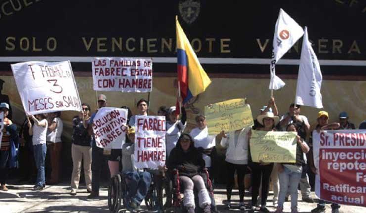 Empresa pública Fabricamos Ecuador (FABREC) entró a liquidación