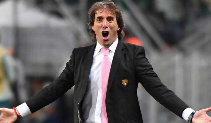 Guillermo Almada, Fútbol, Barcelona, Clásico del Astillero,