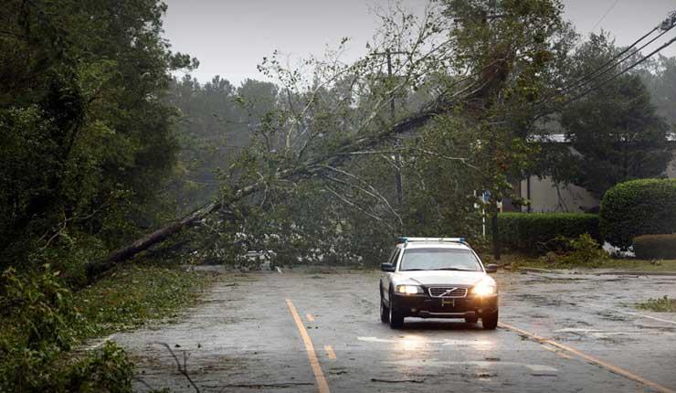 El huracán Florence se cobra sus primeras víctimas en EE.UU.