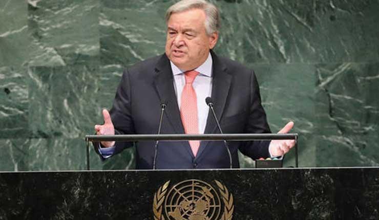 El jefe de la ONU traza un panorama negro del estado del planeta
