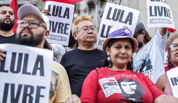Lula Livre, Brasil, Mundo,