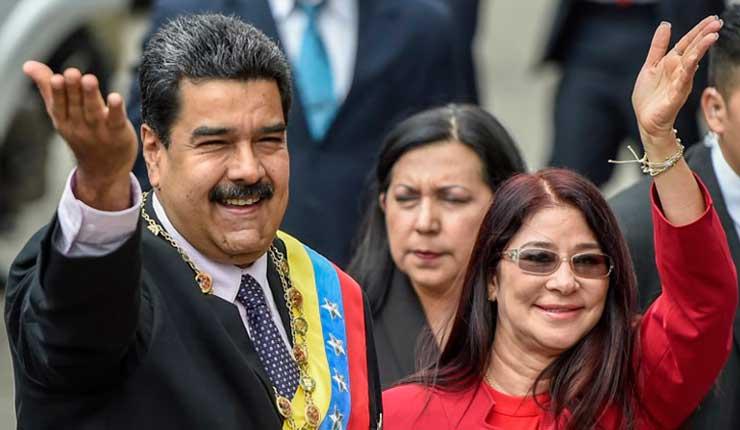 EEUU impone sanciones al entorno de Nicolás Maduro, incluida su mujer