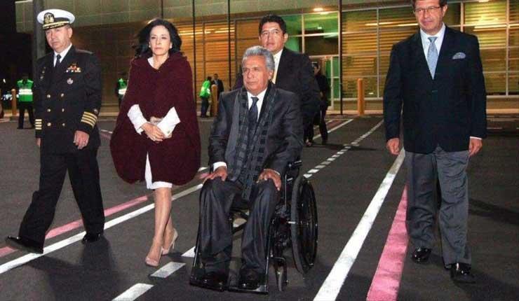 Solo el 38 % de ecuatorianos cree en palabra de Moreno