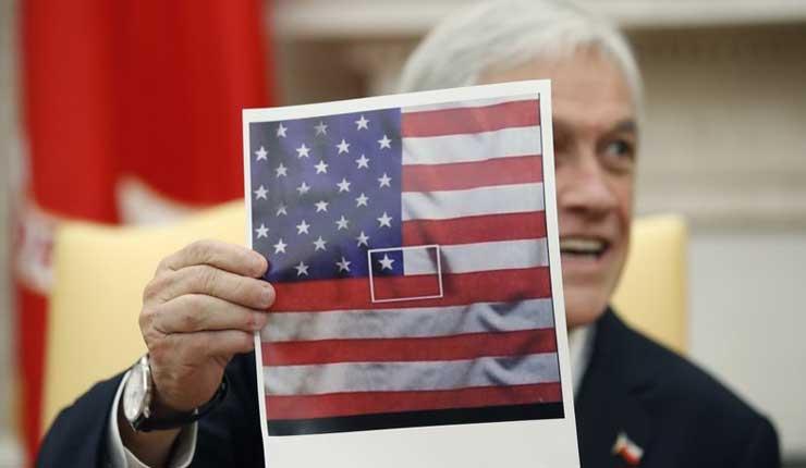 Trump recibe a presidente chileno en la Casa Blanca