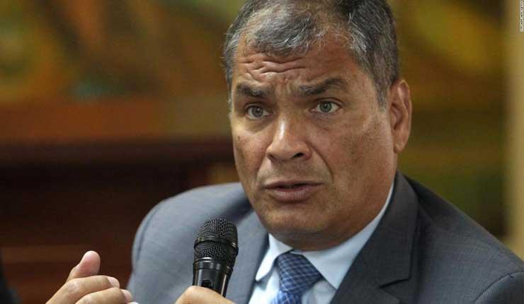 Rafael Correa denuncia ante la ONU persecución judicial