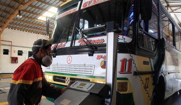 Transportistas del Guayas espera cumplir con la revisión técnica vehicular