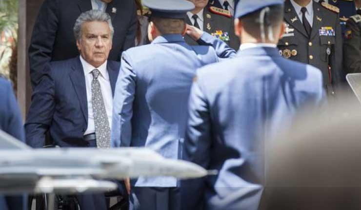 Exmiembro de seguridad de Lenín Moreno se declaró culpable