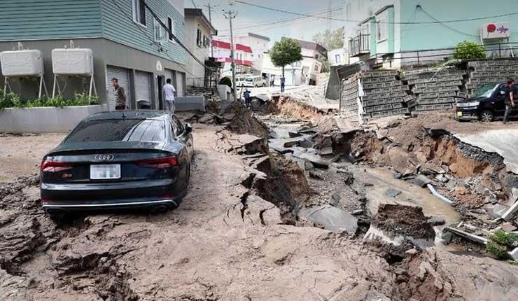 Sismo de magnitud 6,7 estremece el norte de Japón (VIDEO)