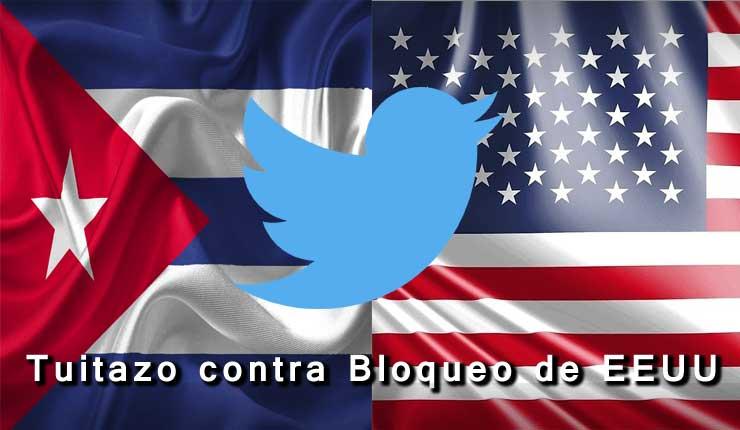Cuba llama a sumarse mediante Twtter al rechazo, contra el bloqueo de EE.UU