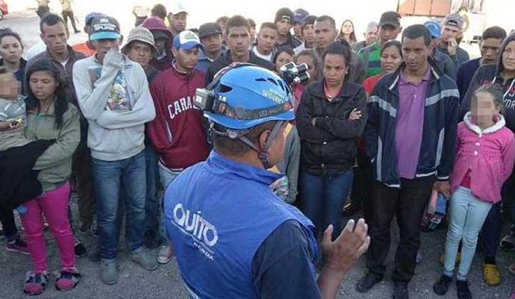 Quito: Venezolanos tienen plazo hasta el 30 de septiembre para quedarse en los centros de tránsito temporal