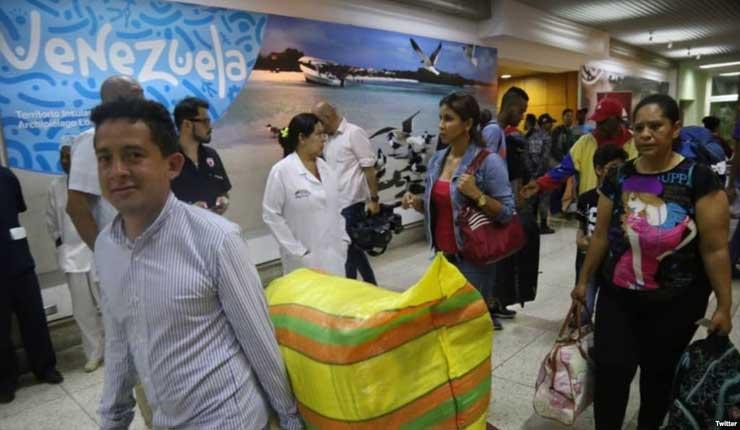 Más de 1700 venezolanos regresaron a su país en los últimos días, acogiéndose a el Plan Vuelta a la Patria