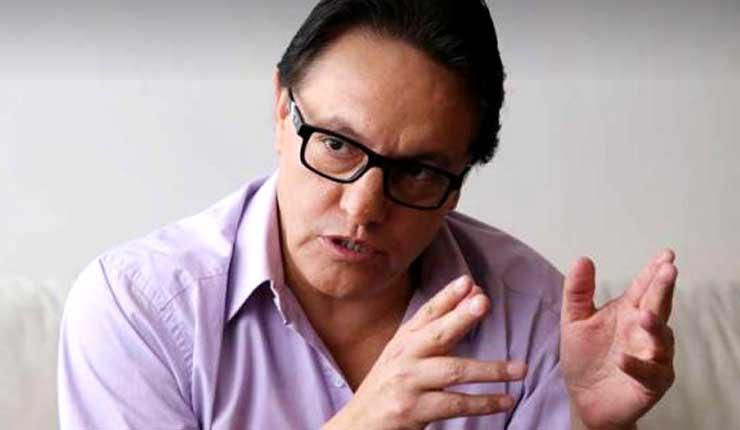El político Fernando Villavicencio denuncia, Tío de Juan Sebastián Roldán es abogado de Chevron