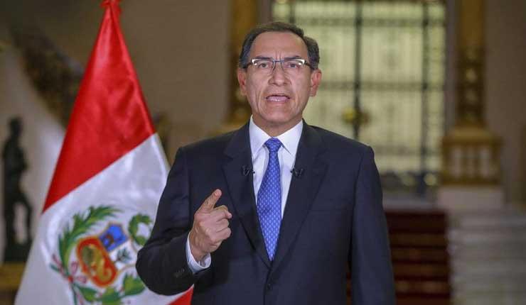 Vizcarra presiona al Congreso peruano por referendo