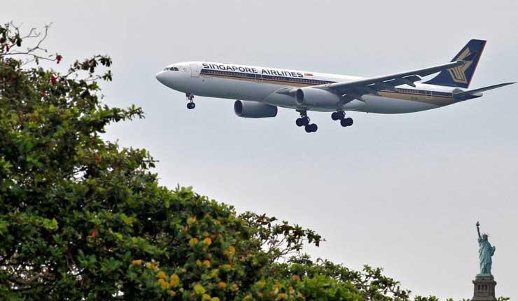 El vuelo comercial más largo del mundo aterriza en Nueva York