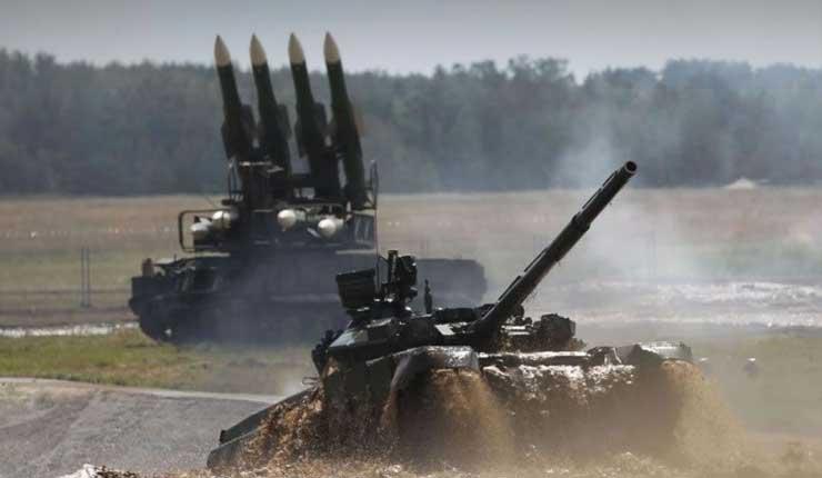 Fuerzas nucleares de Rusia efectúan maniobras militares