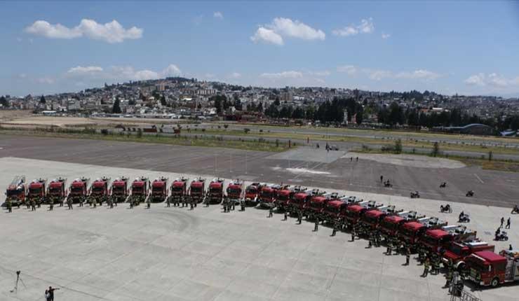 Municipio de Quito destinará más de $9 millones para adquisición de unidades del cuerpo de bomberos