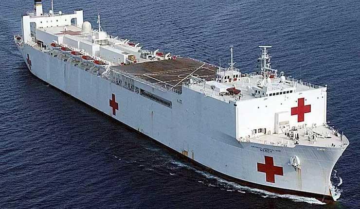 Buque hospital de EE.UU brindará atención médica en Esmeraldas durante 5 días