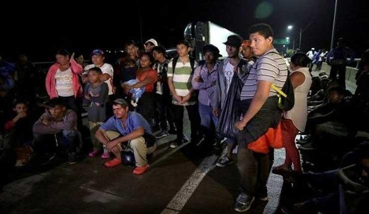 Migrantes continúan su caravana camino a EE.UU a pesar de las amenazas de Trump