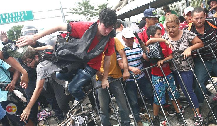 caravana de migrantes