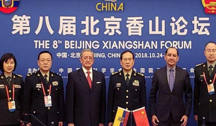 Gobierno de China donará cuatro lanchas guardacostas a Ecuador