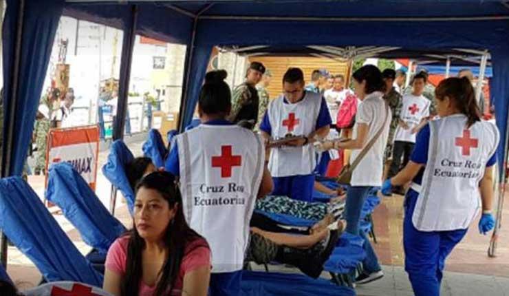 Cruz Roja realizó 230 atenciones durante el feriado del 9 de octubre