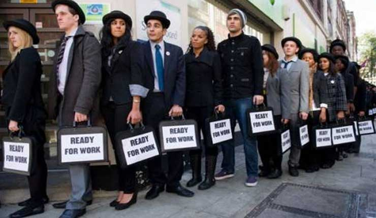 El desempleo en Reino Unido se mantiene en su nivel más bajo en 43 años