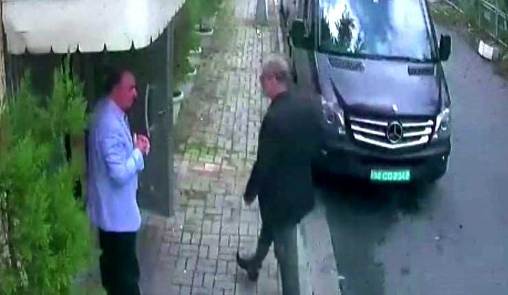 Reportes: Un doble de Khashoggi fue captado por cámaras el día de la desaparición del periodista